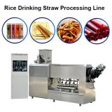 Full Automatic Pasta Straw Making Extruder Machine Pasta Machine